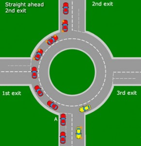straight-ahead-on-roundabout